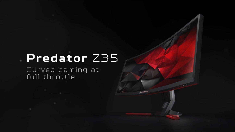 Predator Z35 mängurimonitor