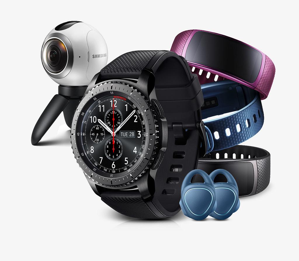 Teised Samsungi uued tooted - Gear 360 kaaamera, Gear IconX kõrvaklapid ja Gear Fit2 aktiivsusmonitor - on juba Eestis müügil