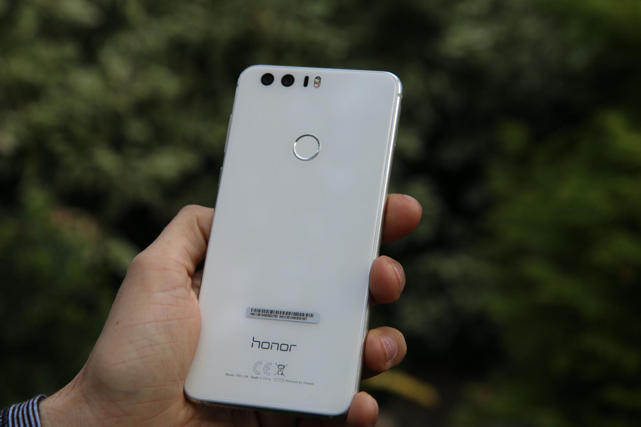 Kaks kaamerat Honor 8-l