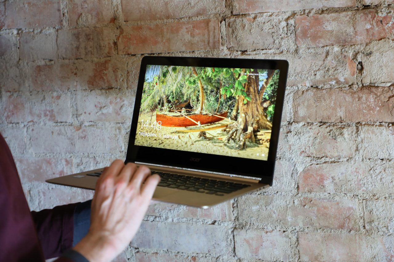 Acer Swift 7. Foto: Kuvar