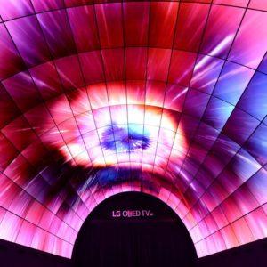 LG OLED telerite tunnel