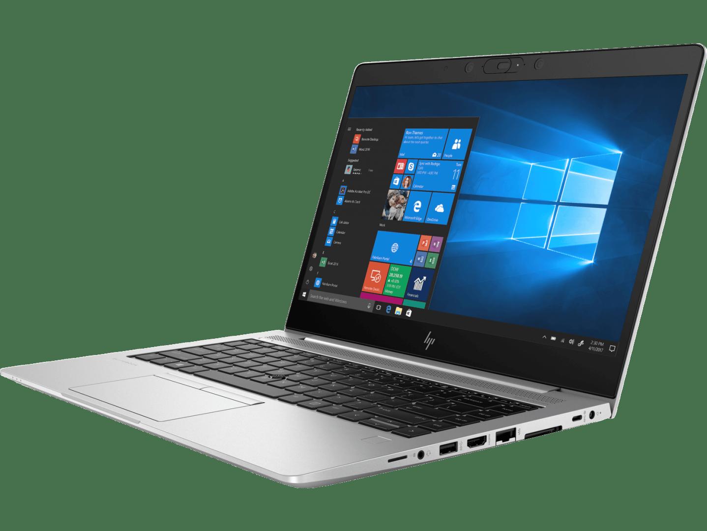 HP Elitebook 745 G5 left-facing