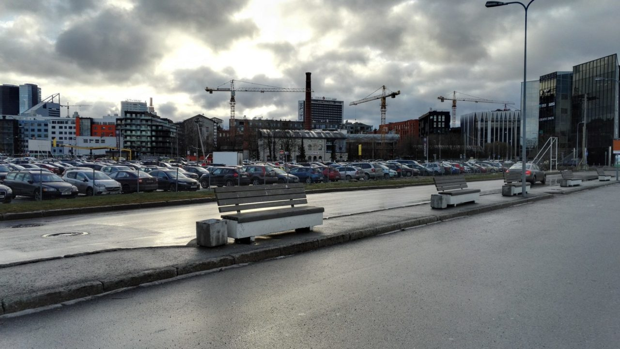 Honor 7 telefoni HDR režiimiga pildistatud vaade Tallinnale.